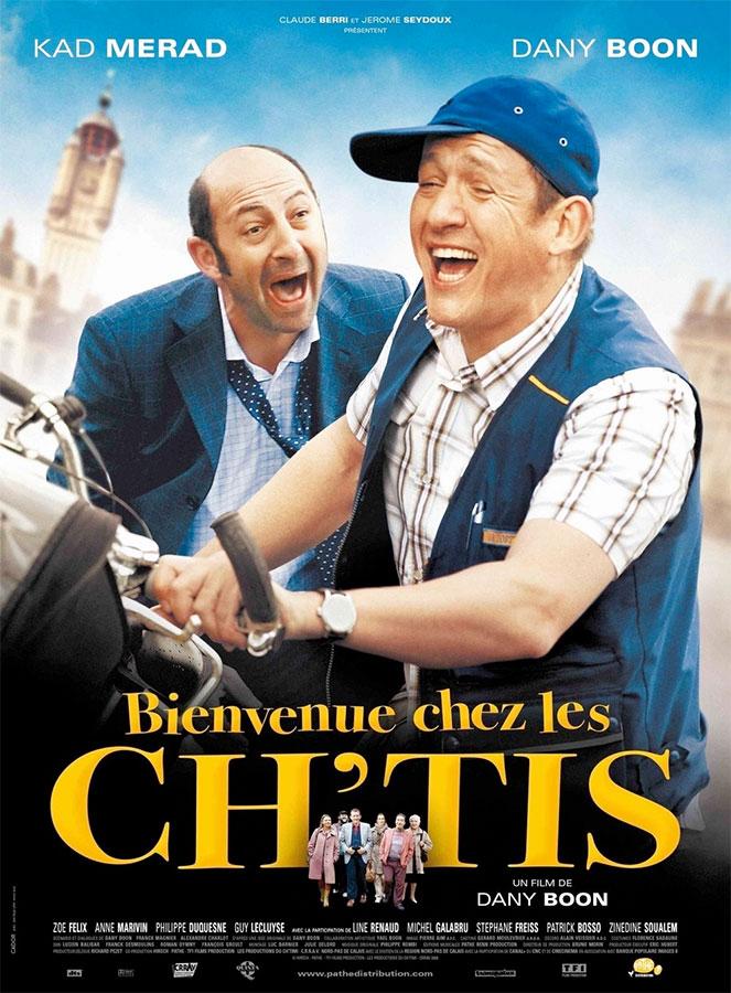 Bienvenue chez les Ch'tis (Dany Boon, 2008)
