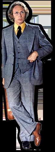 silhouette Pierre Richard dans Le Grand Blond