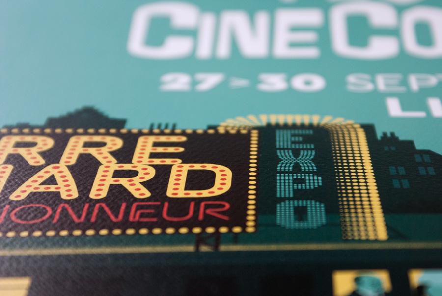 Détail affiche festival CineComedies 2018