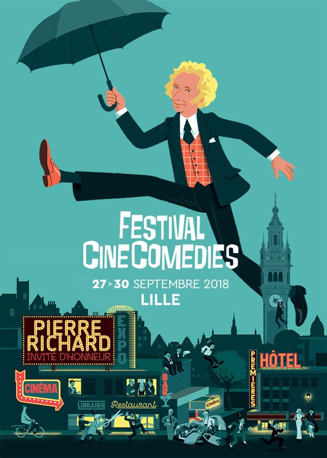 Affiche Festival CineComedies 2018