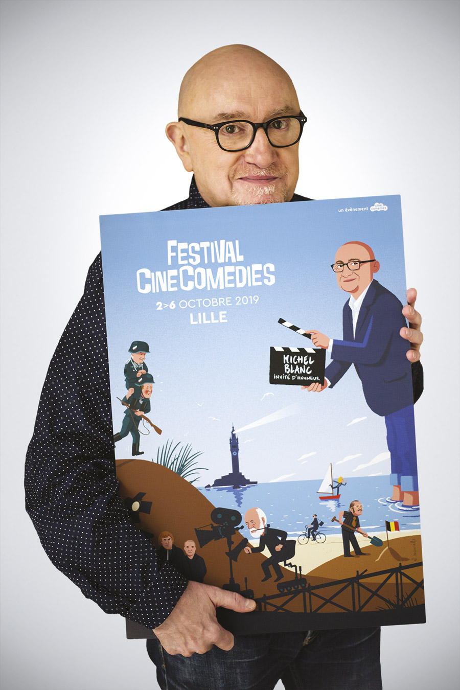 Michel Blanc invité d'honneur du festival CineComedies 2019