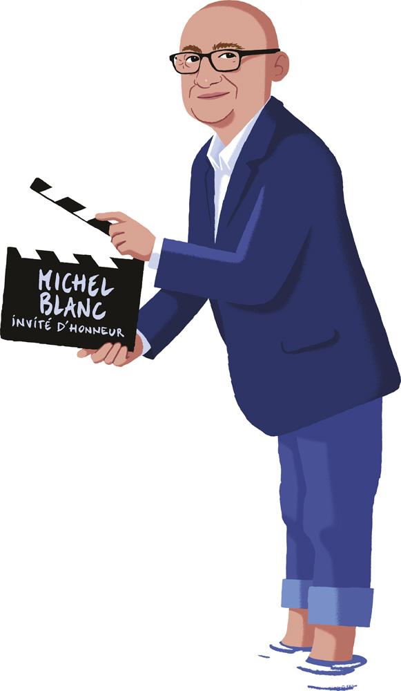 Michel Blanc invité d'honneur festival CineComedies 2019