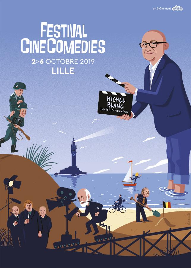 Affiche Festival CineComedies 2019