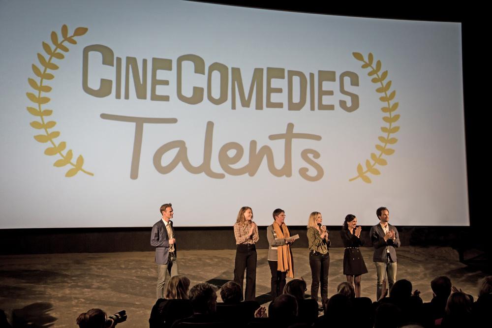Remise des prix CineComedies Talents 2019 © Photo : Bruno Tocaben