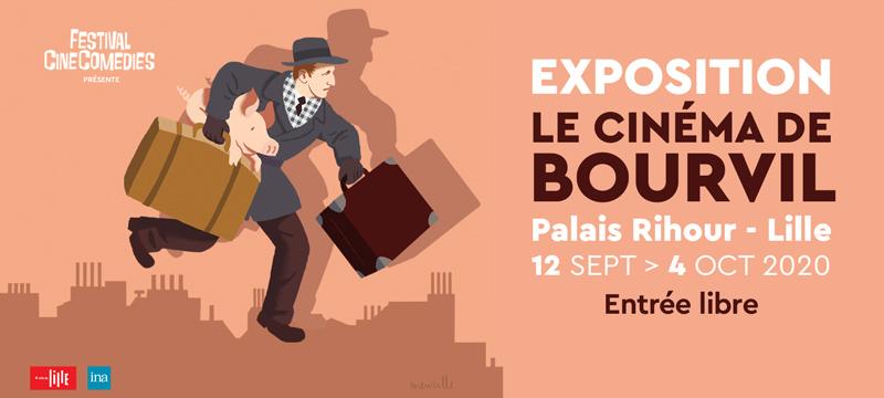 Expo Le Cinéma de Bourvil - Festival CineComedies 2020