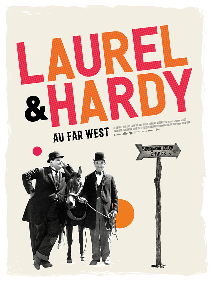 Laurel & Hardy au Far West (James W. Horne, 1937)