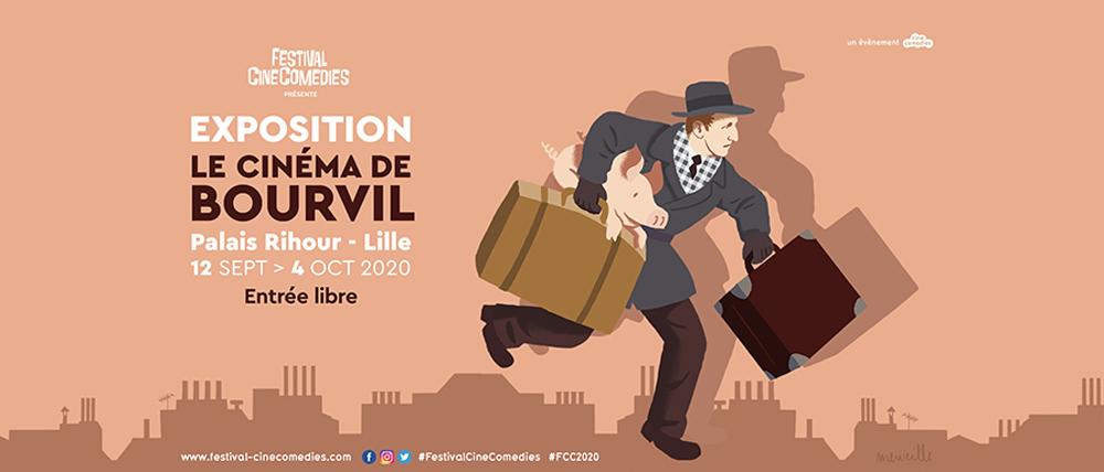 Exposition Le Cinéma de Bourvil - Festival CineComedies 2020