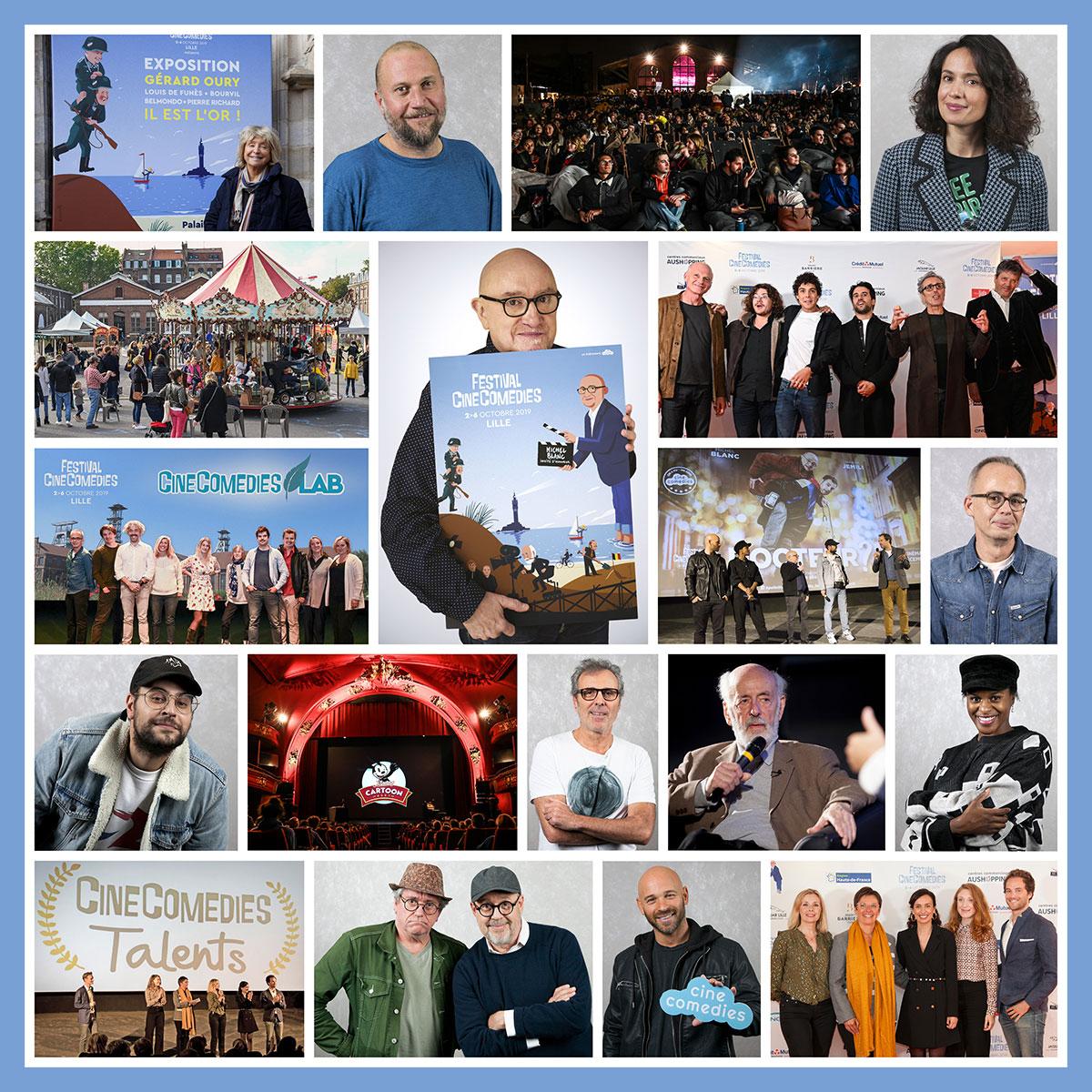 Les invités du Festival CineComedies 2019