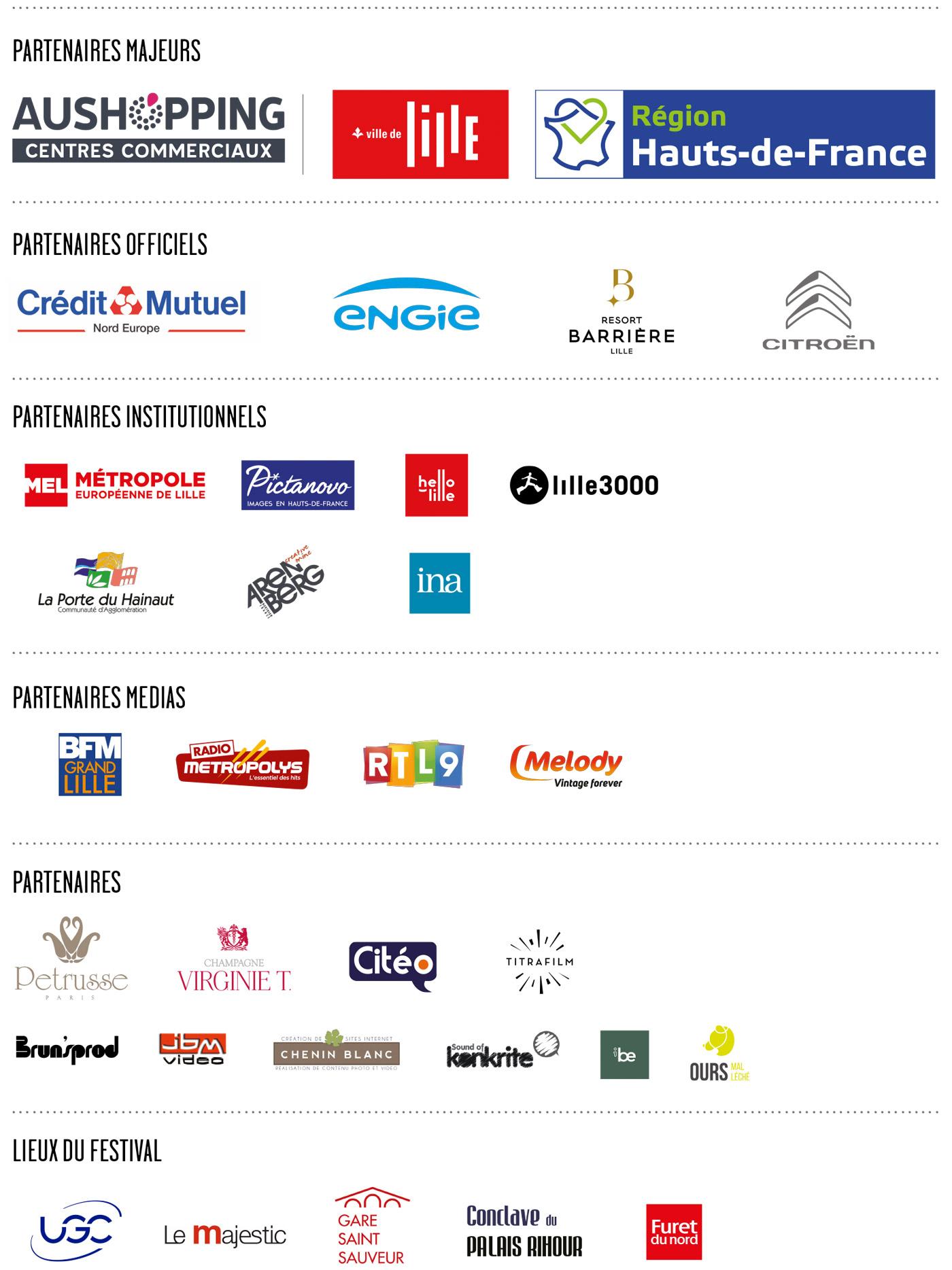 Partenaires du festival CineComedies 2020