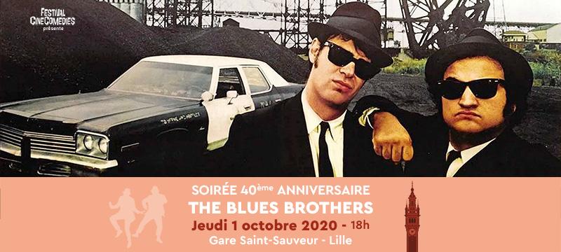 Soirée 40 ans The Blues Brothers