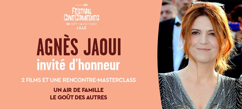AGNÈS JAOUI INVITÉE D'HONNEUR