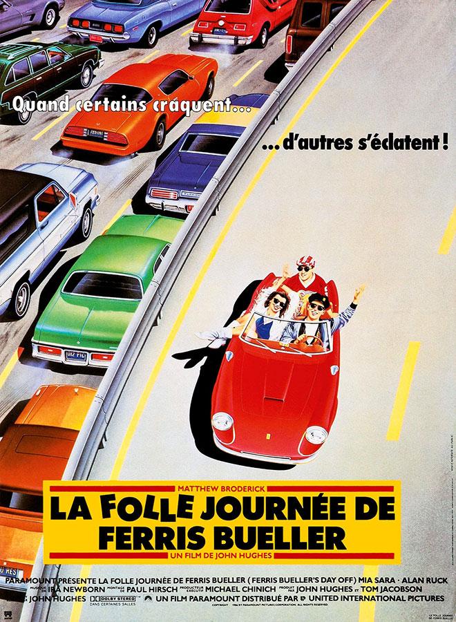 La Folle journée de Ferris Bueller (John Hugues, 1986)