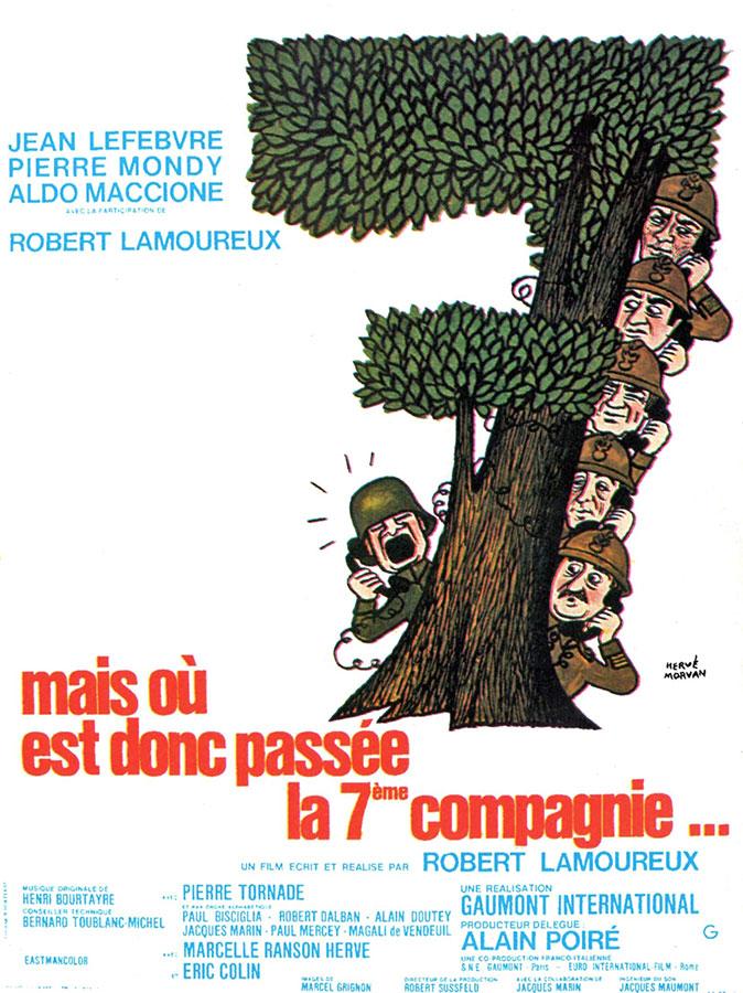 Mais où est donc passée la 7ème Compagnie (Robert Lamoureux, 1973)