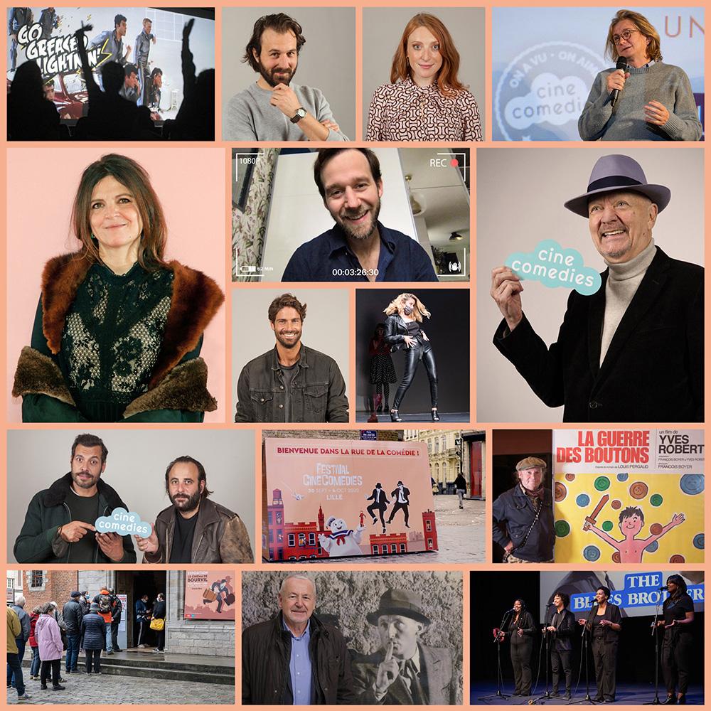 Souvenirs du Festival CineComedies 2020