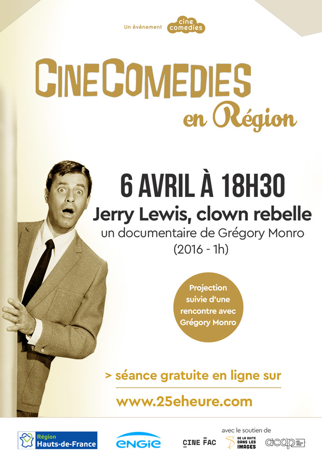 Jerry Lewis Clown rebelle - CineComedies Régions