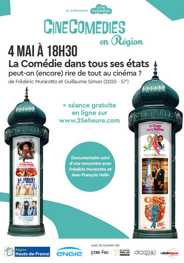 CineComedies en Région - La Comédie dans tous ses états