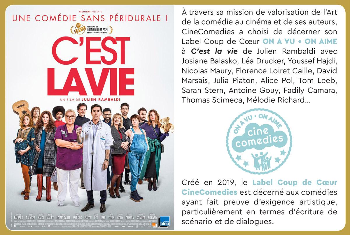 C'est la vie (Julien Rambaldi, 2020) Label CineComedies